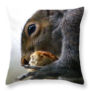 Tasty Bread Throw Pillow