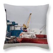Tate And Lyle Silvertown Throw Pillow