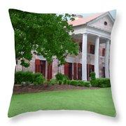 Tate Mansion As Art Throw Pillow