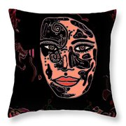 Tattoo Artist Throw Pillow