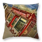 Tattoo Shop Throw Pillow