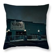 Tav On The Ave Throw Pillow by Joel Witmeyer
