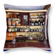 Tavern Civil War Era Throw Pillow by Dave Mills