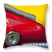 Taxi De Soto Throw Pillow