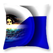 Subconcious Mind Throw Pillow