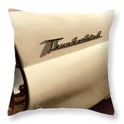 Tbird Throw Pillow