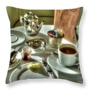 Tea For Two Throw Pillow