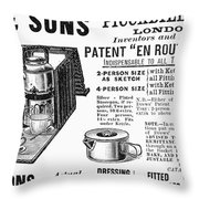Tea Service, 1898 Throw Pillow