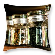 Tea Soldiers Throw Pillow