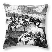 Tea: Treatise, 1687 Throw Pillow