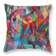 Teach Me To Have Mercy Throw Pillow