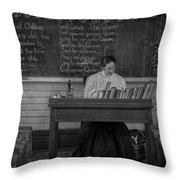 Teachers Rules  Throw Pillow