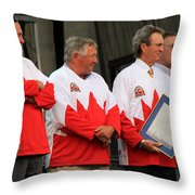 Team Canada 1 Throw Pillow
