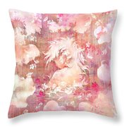 Tears Of The Rain Throw Pillow