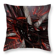 Technic Abstract Fx  Throw Pillow