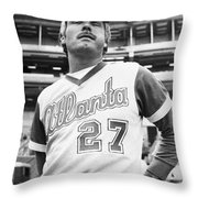 Ted Turner (1938- ) Throw Pillow