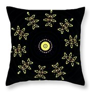 Teddies Bears In Space Throw Pillow