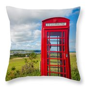 Telephone Anyone Throw Pillow