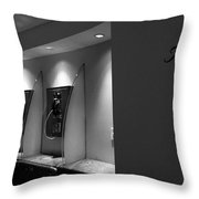 Telephones On Wall Throw Pillow