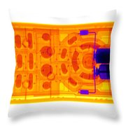 Television Remote Control Throw Pillow
