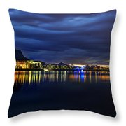 Tempe Arts Center At Sunset  Throw Pillow