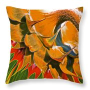 Temperatures Rising Throw Pillow