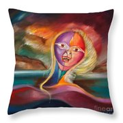 Tempestad Throw Pillow