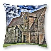 Temple Manor Throw Pillow