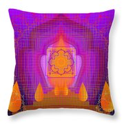 Temple Of The Inner Flame 2012 Throw Pillow