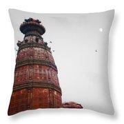 Temple Rishikesh India Throw Pillow