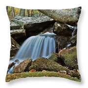 Tennessee Waterfall 5962 Throw Pillow