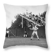 Tennis Player, C1920 Throw Pillow