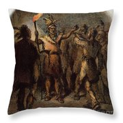 Tenskwatawa (c1768-1834) Throw Pillow