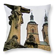 Tepla Monastery - Czech Republic Throw Pillow