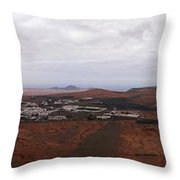 Tequise From Guanapay Castle  Throw Pillow