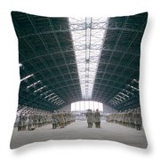 Terracotta Warrior Army In Xian In China Throw Pillow
