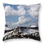 Teton Range Throw Pillow