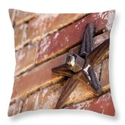 Texas Star For Bekah Throw Pillow