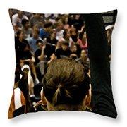 Texas University Throw Pillow