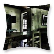 Textured Art - Inside Heaven Throw Pillow