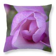 Textured Flowerr Throw Pillow