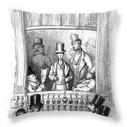 Thackeray: Newcomes, 1855 Throw Pillow