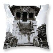 Thai Architecture Throw Pillow
