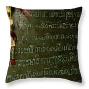 Thai Bell 2 Throw Pillow