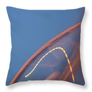 Thai Bridge Abstract  Throw Pillow