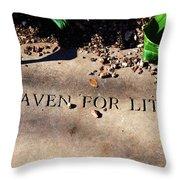 Thank Heaven For Little Girls Throw Pillow