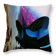 Thank You Frank Gehry Throw Pillow