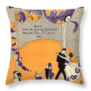 That Naughty Waltz Throw Pillow