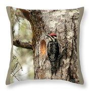 Thats Not My Nest Throw Pillow