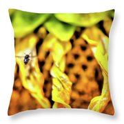 The 300 Sunflower Throw Pillow